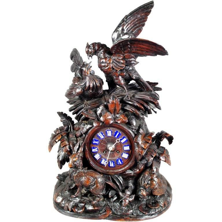 Black Forest Clock For Sale