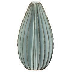 Bill Hudnut Ceramic Teardrop Cone in Frost Blue