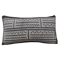 Vintage Graphic Pattern Batik Lumbar Pillows