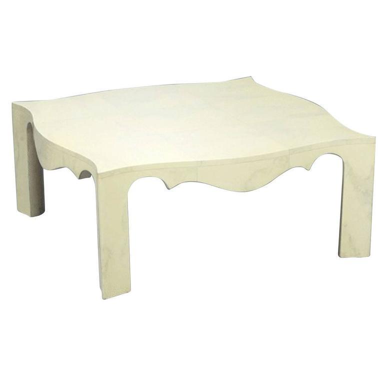 Samuel Marx Serpentine Low Table