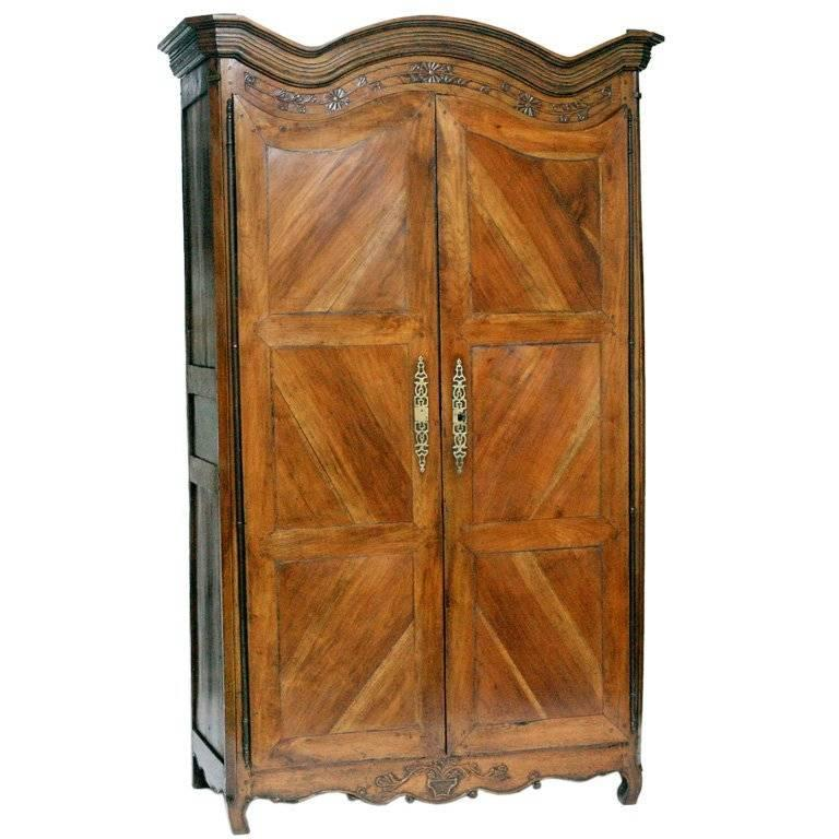 French Country Armoire For