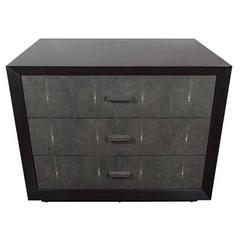 Custom Shagreen Drawer Front Dressers