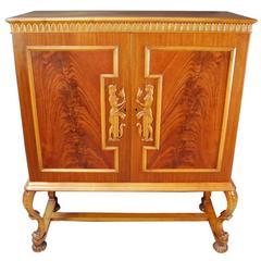 Swedish Neoclassical Cabinet