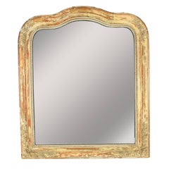 French 19th Century Louis Philippe Mirror with Amazing Patina