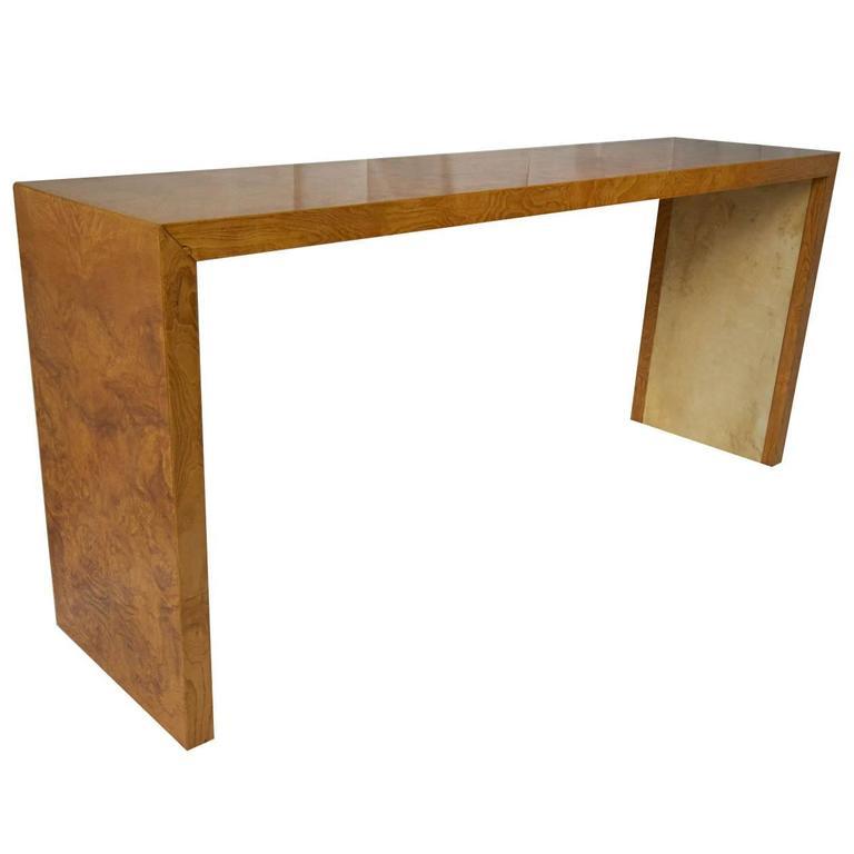 Art Deco Elegant Italian Console Table