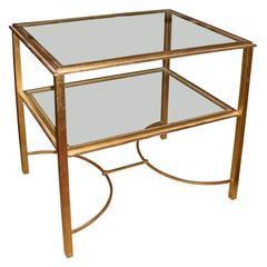 Small 1950-1960 Side Table By Roger Thibier