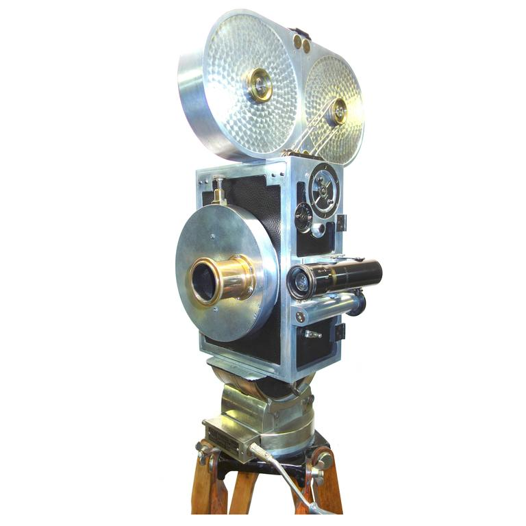 Wilart, 35mm Cinema Camera, One Off Factory Prototype, Circa 1919. As Sculpture.