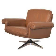 Vintage De Sede DS 31 Swivel Lounge Club Armchair