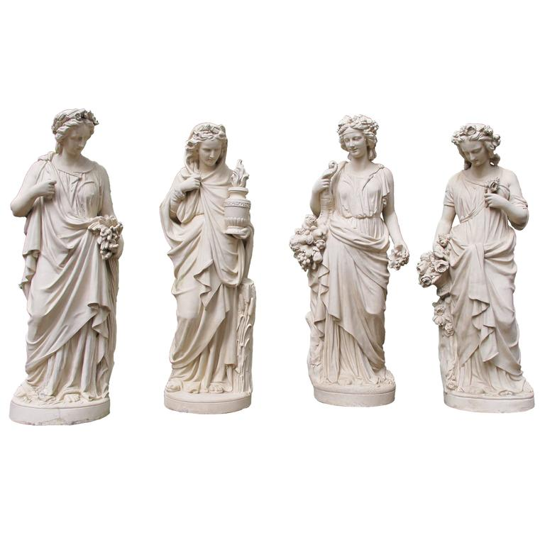 Four Seasons Statues by Villeroy & Boch