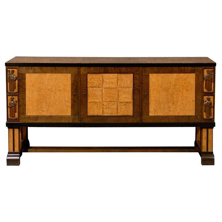 Art Deco Sideboard Attributed to Eliel Saarinen 1