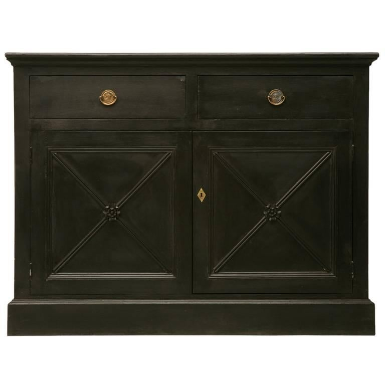 Directoire Style Two-Door Buffet Made in House in any Dimension or Finish