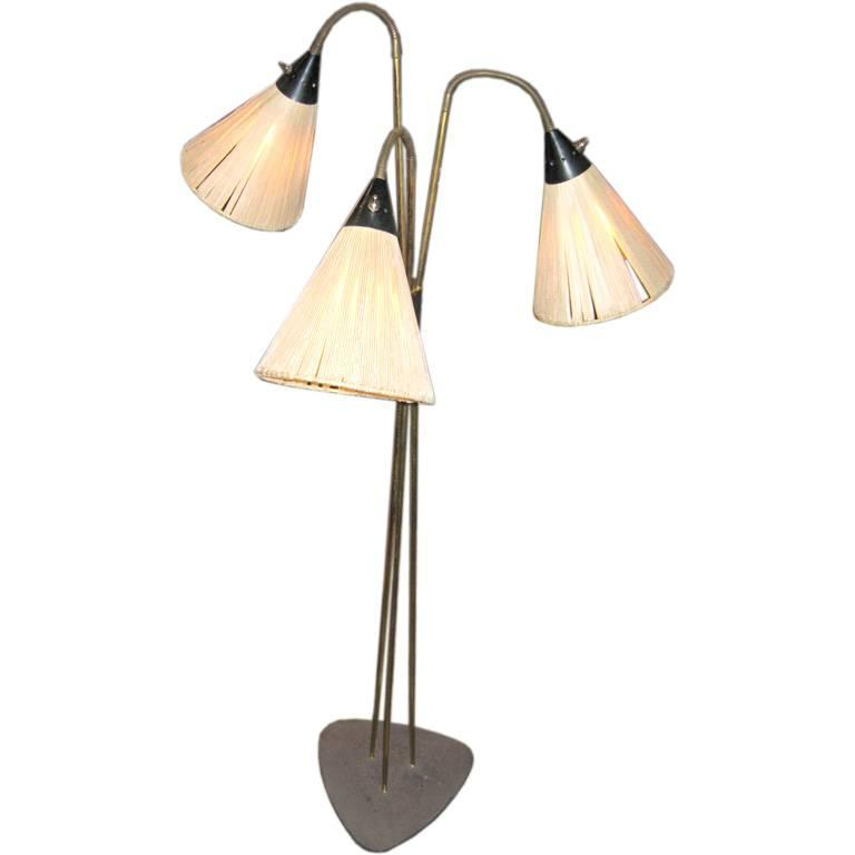 Floor Lamp in the Style of Stilnovo