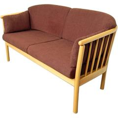 Swedish Modern Loveseat Sofa Settee