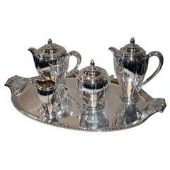 Art Deco Coffee/Tea Set with Tray