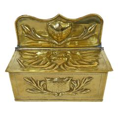 Dutch Brass Candle Box, circa 1875