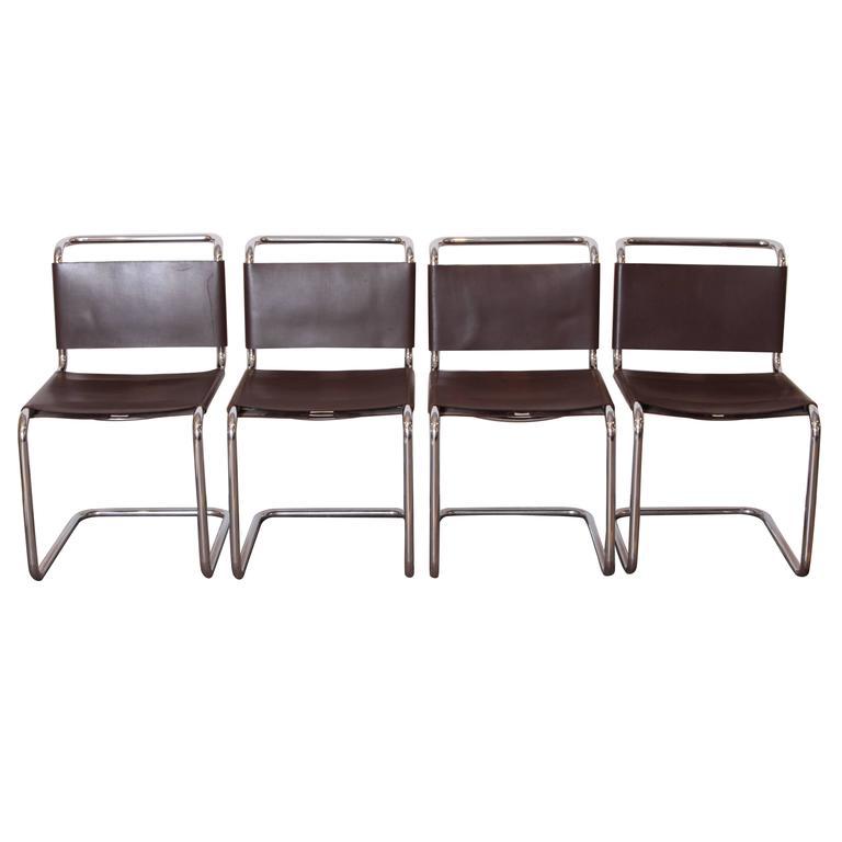 1978 Knoll Spoleto Mid Century Side Chairs By Ufficio Tecnico Set Of Four 1