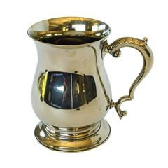 English Nickel Mug, circa 1900