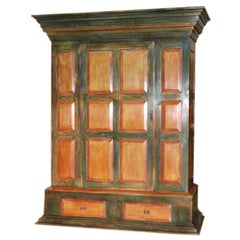 Massive Painted Armoire
