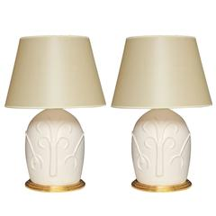 Christopher Spitzmiller for Liz O'Brien Ceramic Lamps