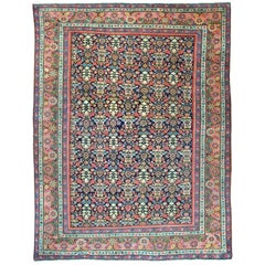 Antique Fereghan Rug, circa 1890