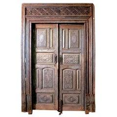 Wood Doorway