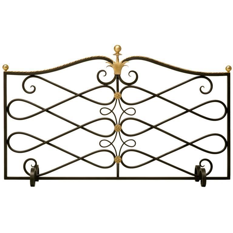 G. Poillerat Style Handmade Fire Screen Available in Any Size