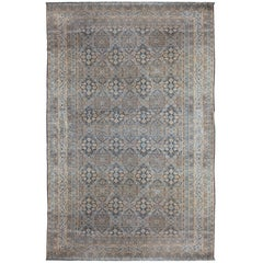 Antique Kirman Rug, circa 1880