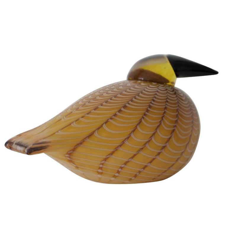 Hakki Glass Bird by Oiva Toikka, 1996