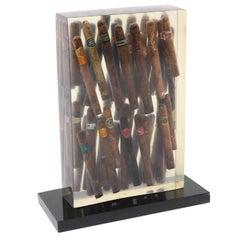 Arman Cigar Sculpture