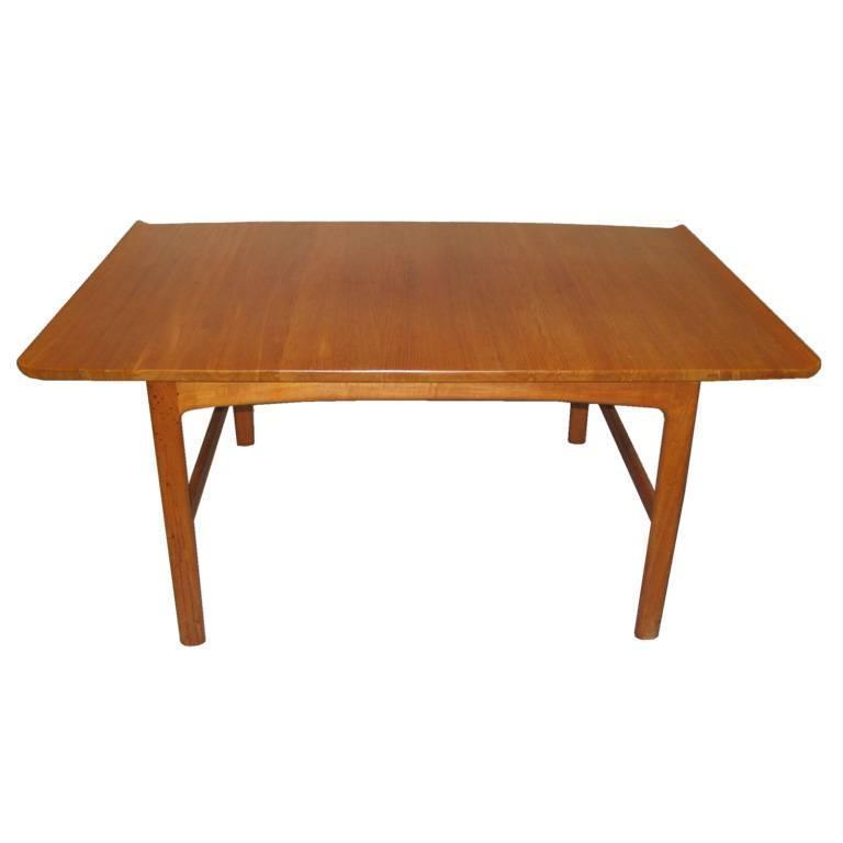 "Mcm Teak Coffee Table: Mid-Century Modern Teak ""Frisco"" Coffee Table By Folke"