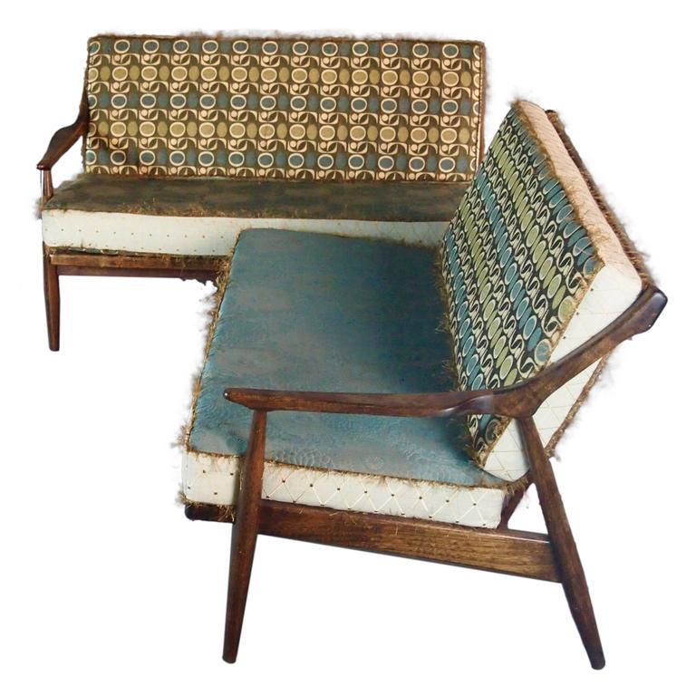 mid century danish sectional sofa for sale at 1stdibs rh 1stdibs com Mid Century Modern Decorating mid century sectional sofa for sale