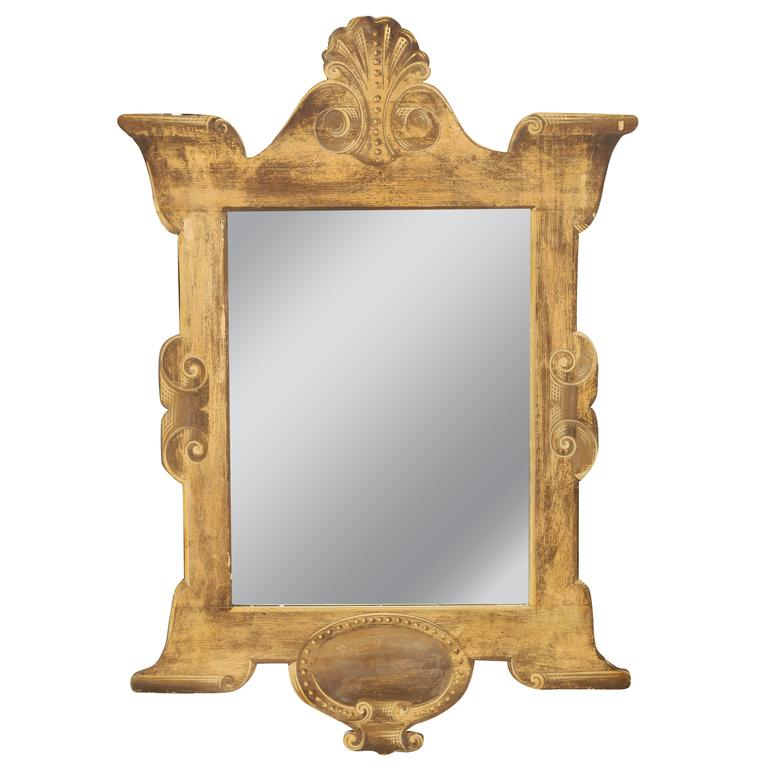 Collection of 19th Century Trompe L'oeil Mirrors