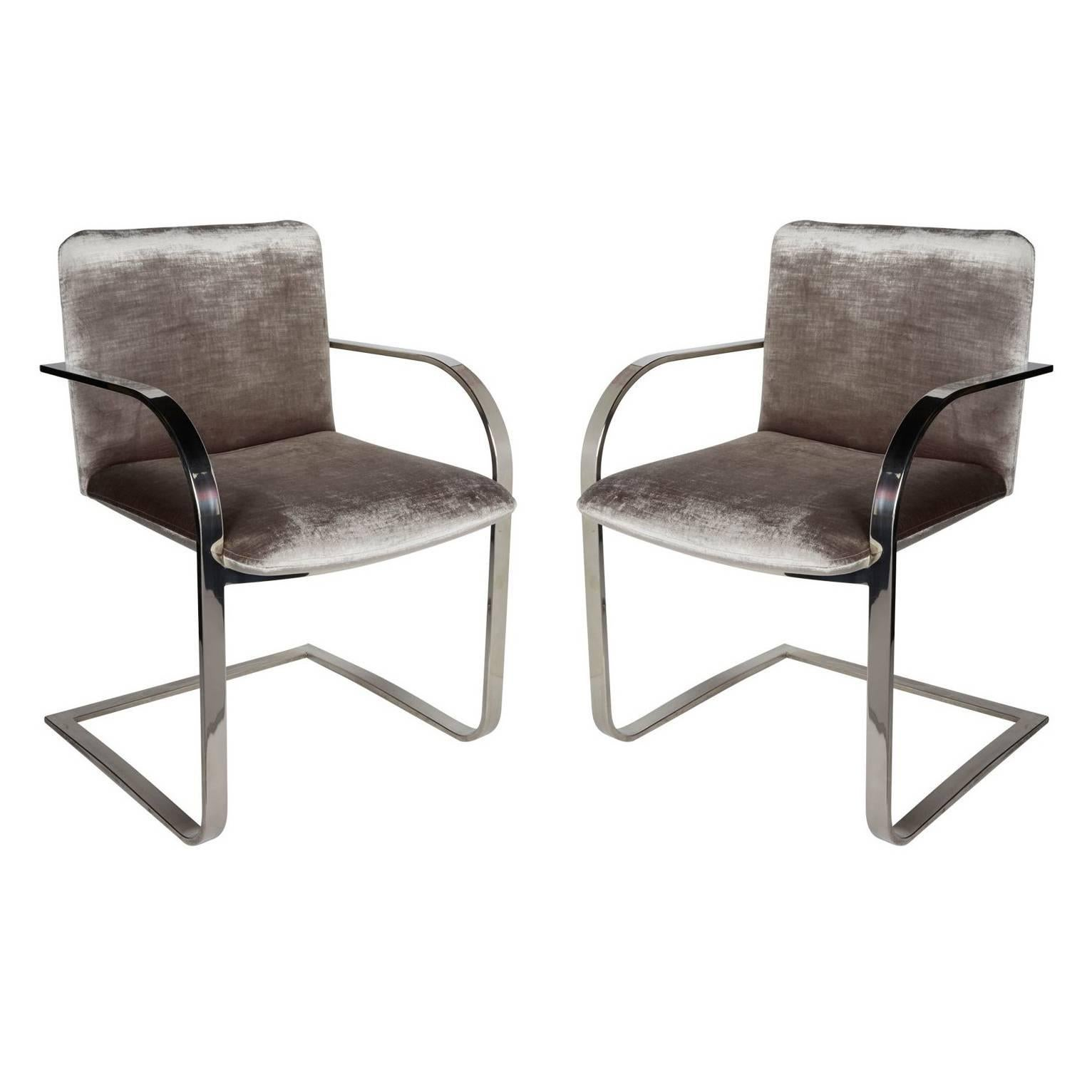 Or Brueton Mid Century Office Modern Chairs Side Pair Of By mvNn0w8yO