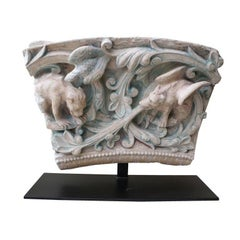 Terra Cotta Fragment of Mythical Creatures, France, circa 1830