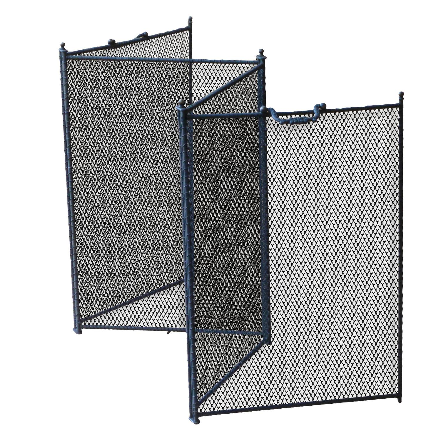 iron french fire screen new handmade for sale at 1stdibs. Black Bedroom Furniture Sets. Home Design Ideas