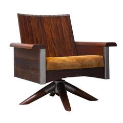 "Carlos Motta ""Sergio"" Swivel Chair"