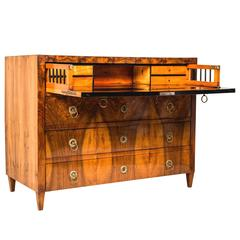 Dutch Neo Classical Decorated Rolltop Desk At 1stdibs