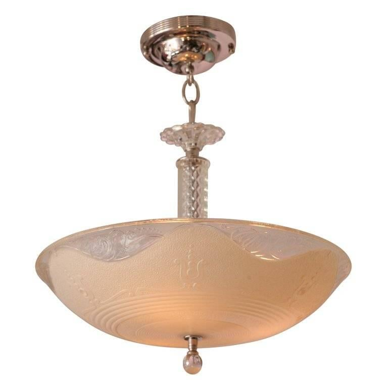 French Deco Chandelier, Detailed Design 1