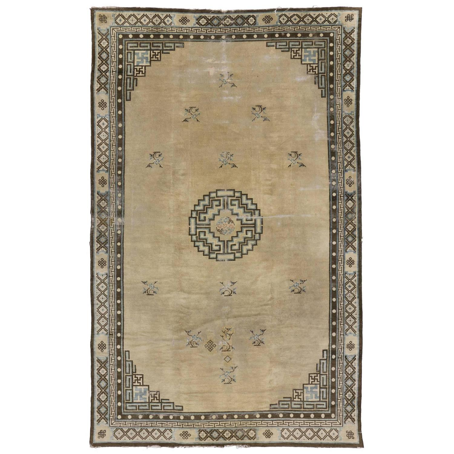 Antique Chinese Peking Rug For Sale At 1stdibs