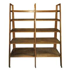 Vintage Wooden Shelf, Denmark, circa 1950