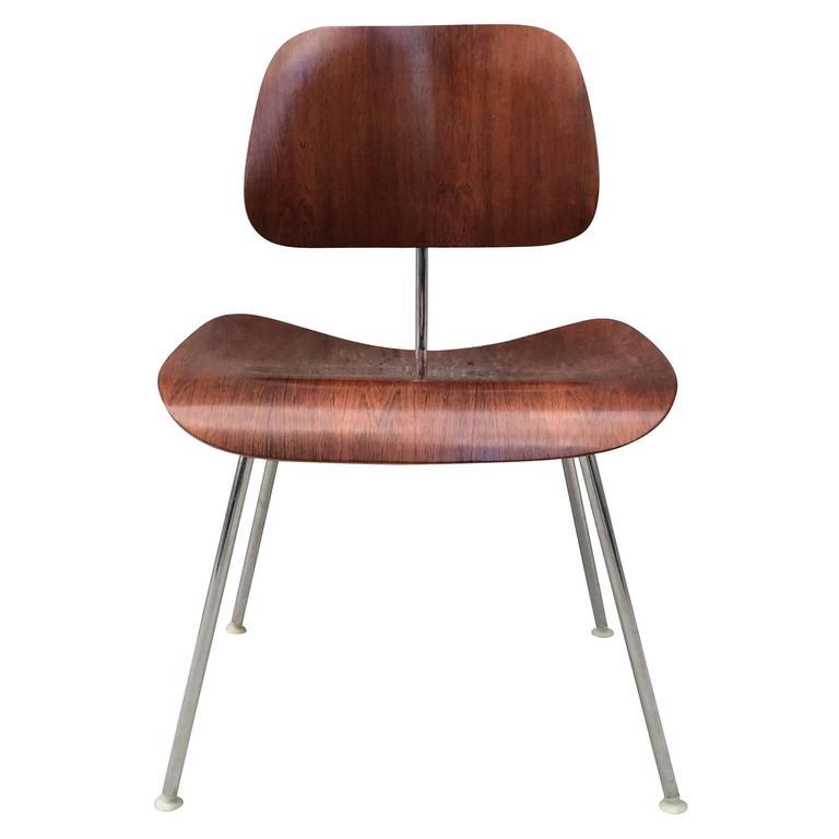 Herman Miller Eames Rosewood DCM Chair