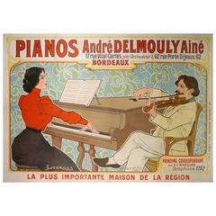 Original French Antique Poster from 1902
