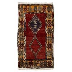Antique Central Anatolian Konya Rug
