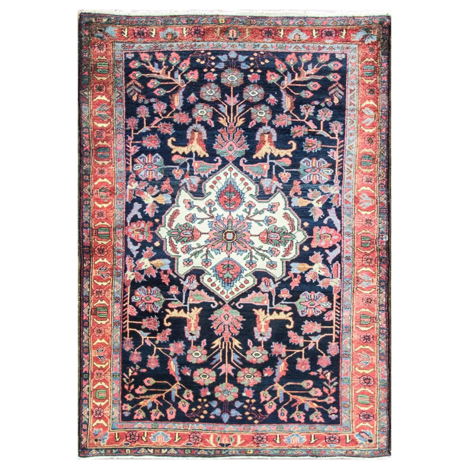Persian Bakhtiari Rug At 1stdibs