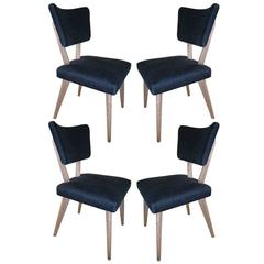 Set of four  Mid century  Dining/ Side Chairs