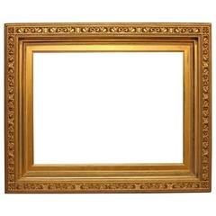 Large American Gold Gilt Frame by W.K. O'Brien Bros. of New York, circa 1880s