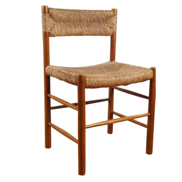 French Woven Dining Chair 1