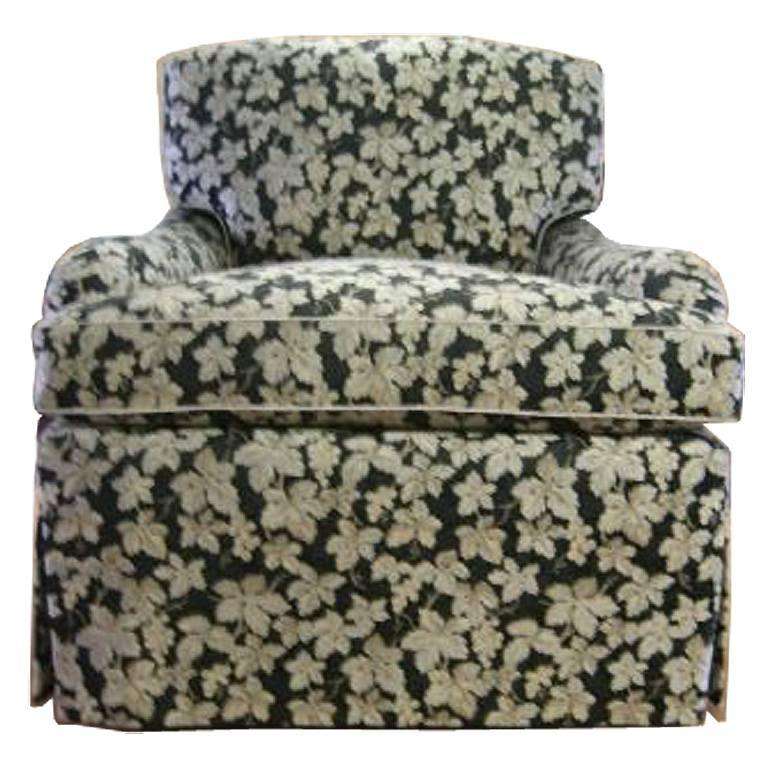Classic 1940 39 s club chair fully refurbished and for Reupholstered chairs for sale