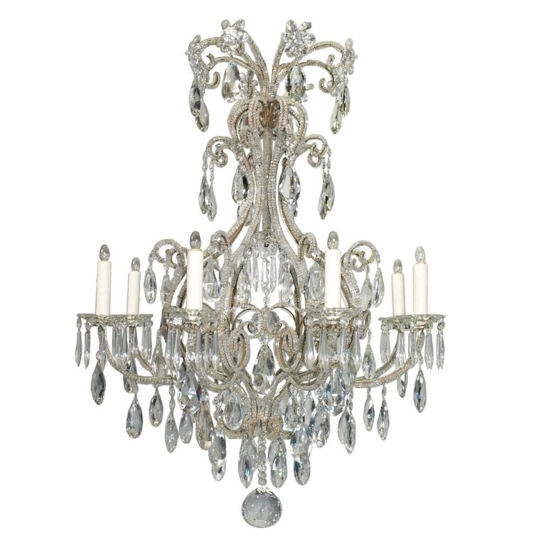 Antique chandelier venetian chandelier for sale at 1stdibs antique chandelier venetian chandelier for sale aloadofball Images