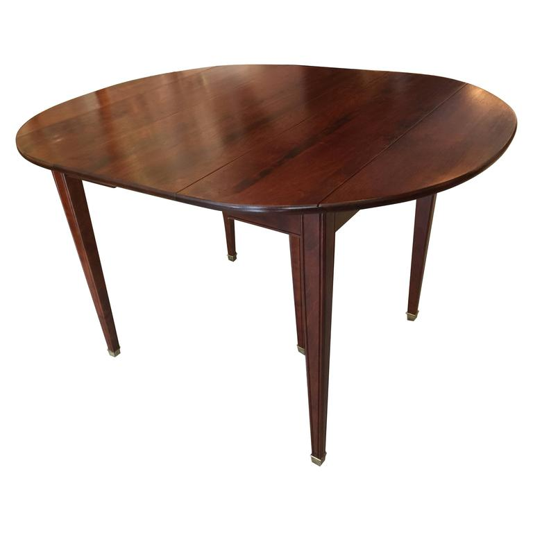 Directoire style extension dining table for sale at 1stdibs for Styling a dining table